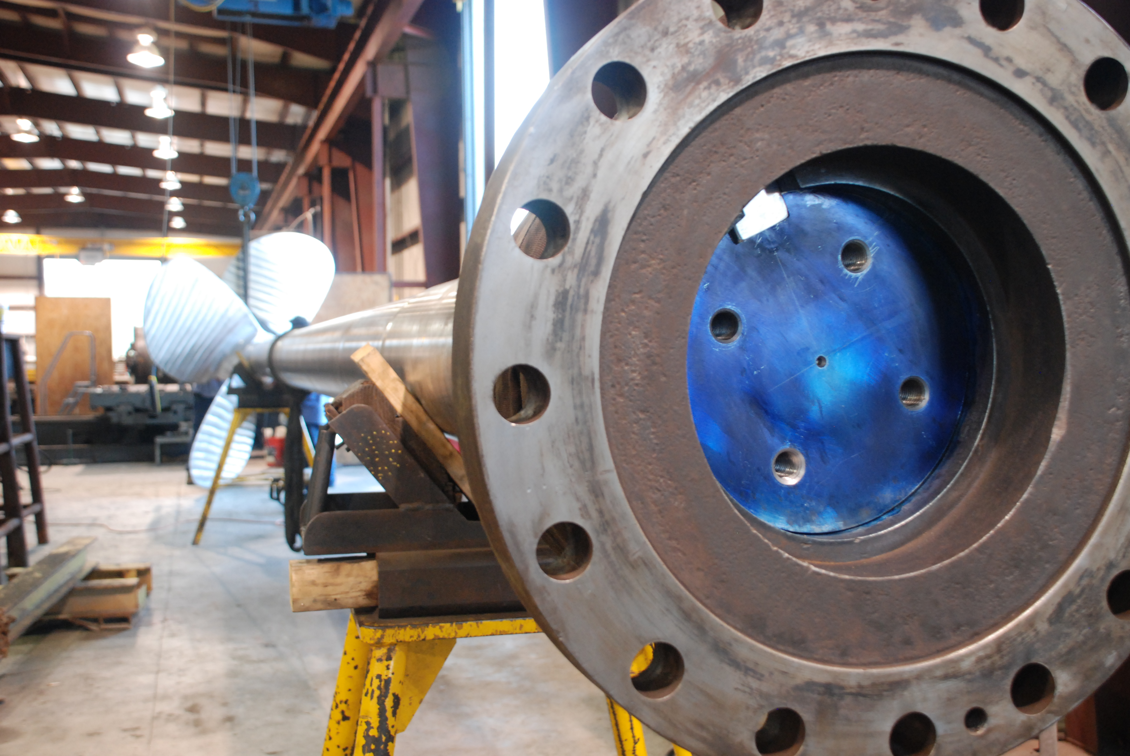 "12"" shaft with prop and coupling"